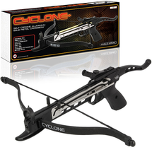 Cyclone Self Cocking 80lb Crossbow Pistol in Black