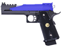 WE HI-CAPA 5.1 Dragon Tattoo GBB Airsoft pistol in blue