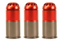 Nuprol 40mm Gas Grenade 96 Round in Orange (3 pack)