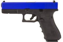 Nuprol Raven EU17 Full Auto GBB Pistol in Blue