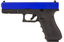 nuprol raven eu17 gbb blue pistol left side
