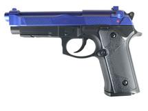 Y&P GCH-105 M92 Replica Co2 NBB Pistol in Blue