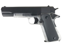 Blackviper M1911 Gas Powered Pistol in Clear
