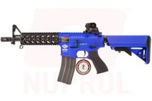 G&G CM16 Raider Combat Machine in Blue