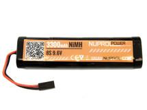 Nuprol  Airsoft Battery  3300MAH 9.6V