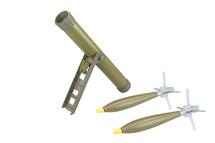 APS Hades Arrow Airsoft Mortar Rocket Launcher in green