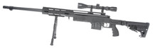 Well MB4412 M24 Airsoft Sniper Rifle in Black