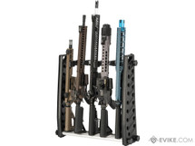 "MatrixMed 20"" Inch Airsoft Gun Rack System with guns"