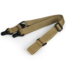 Wosport MS3 Two-point Rifle Sling in Desert Tan