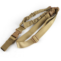 WoSport One Point Nylon Military Airsoft Gun Sling in Desert Tan