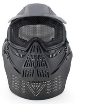 Wosport Transformers Ultimate Airsoft Mask with Steel Mesh in Black