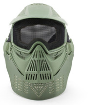 Wosport Transformers Ultimate Airsoft Mask with Steel Mesh in Olive Drab Green