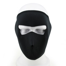 Wosport Full Face Seal Airsoft Mask in Black