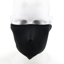 Wosport Half Face Seal Airsoft Mask in Black