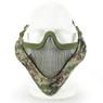 Wosport Half Face V-Master Airsoft Mask in SU
