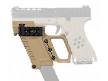 Wosport Glock Pistol Carbine Kit for G17/18/19 Series in Tan