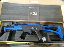 Army Armament R36 - G36 Replica Gas Blowback Rifle in Blue