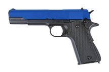 Army Armament M1911 Replica GBB Full Metal  in Blue
