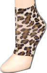 Gel Socks - Leopard Pattern