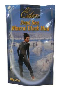 Edom Dead Sea Mineral Black Mud