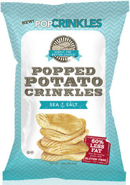 Popped Potato Crinkles - Sea Salt 5.0 Oz (Case of 12)
