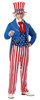 Uncle Sam USA Icon Men's Costume