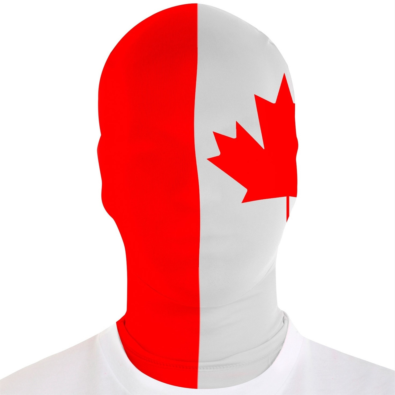 canada flag morph mask the costume shoppe