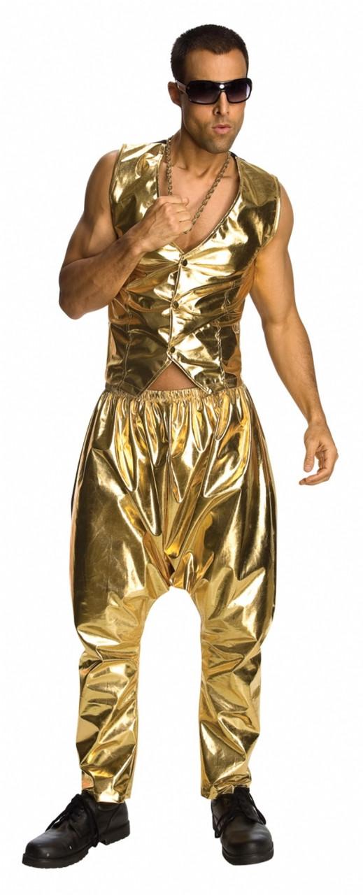 80s gold lame mc hammer pants the costume shoppe