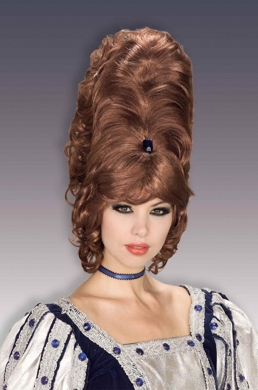 60s big hair styles large 60s beehive costume wig 6231