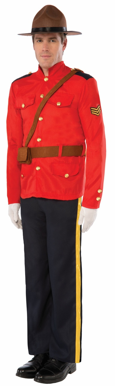 how to make an rcmp costume
