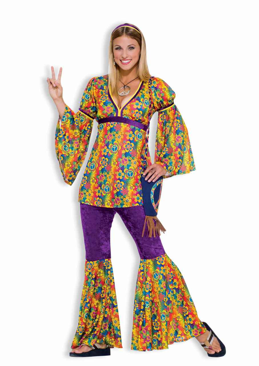 purple haze hippie teen costume