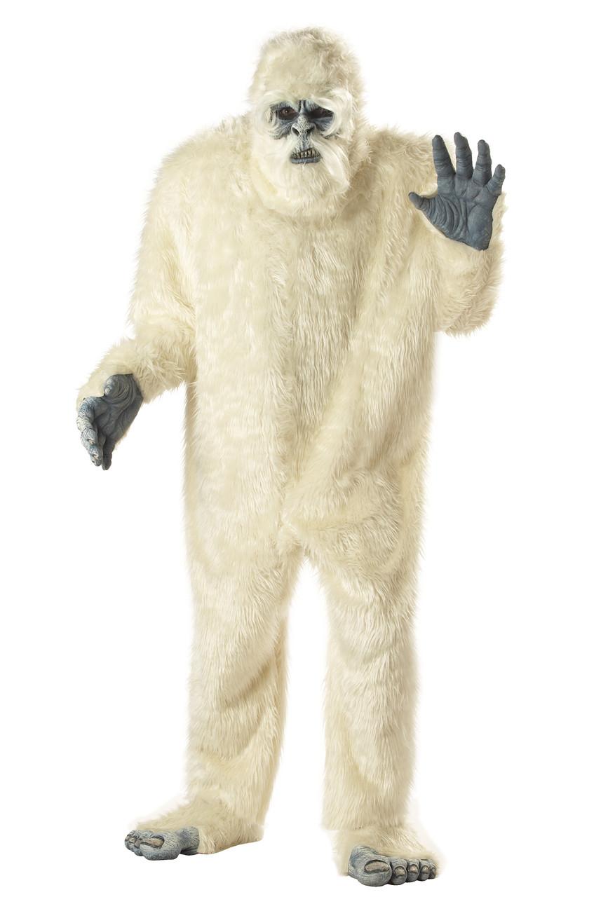 Plus Size Yeti Abominable Snowman Mascot Costume  sc 1 st  The Costume Shoppe & Plus Size Yeti Abominable Snowman Mascot Costume - The Costume Shoppe