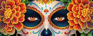 Beautiful Costume Style - Day of the Dead
