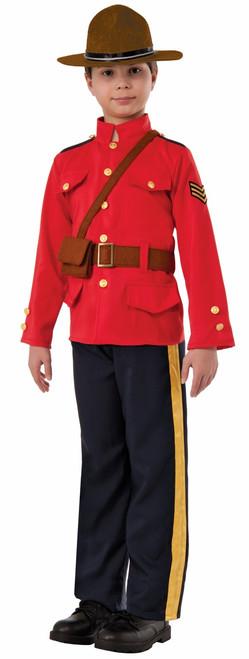 Kids RCMP Mountie Costume