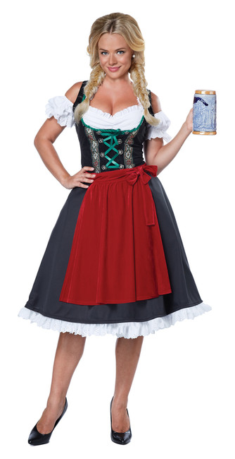 Ladies Oktoberfest Fraulein Costume
