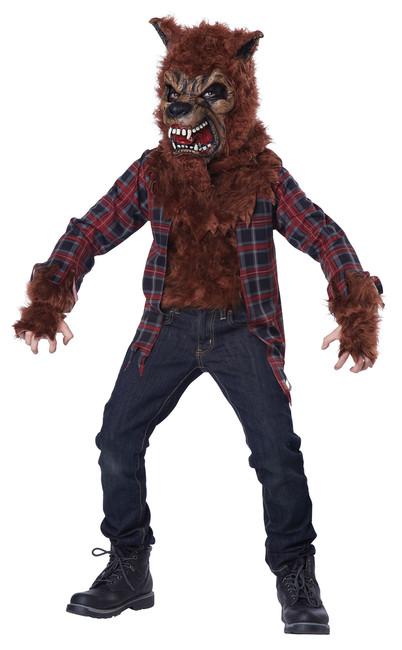 Kids Blood Moon Werewolf Costume