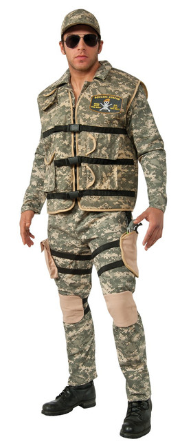 Camo Seal Team 2 Soldier Costume