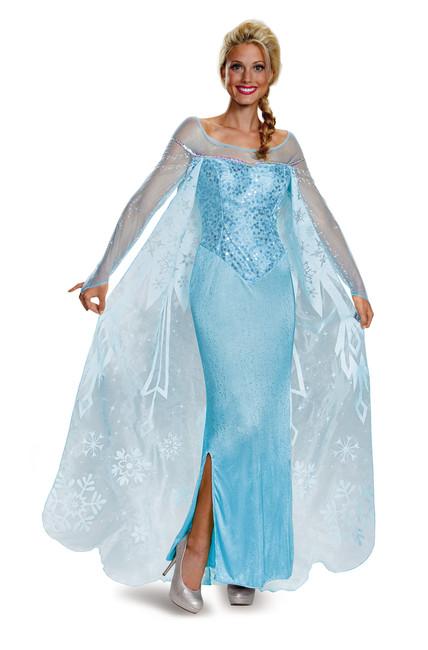 Elsa Prestige Frozen Ladies Plus Costume