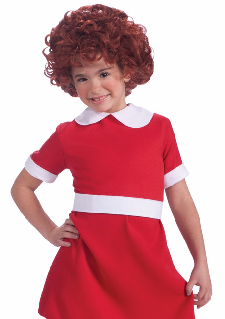 Orphan Annie Red Childs Wig