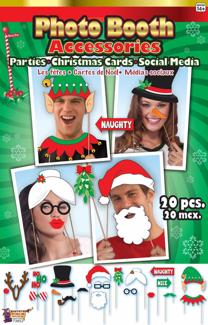 Holiday Photo Booth Accessories Kit