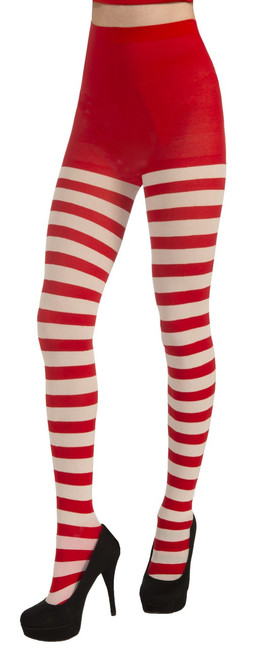 Striped Candy Cane Tights