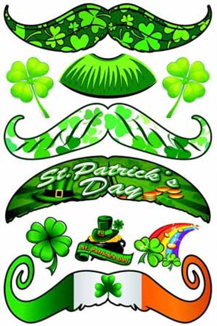 St. Patrick's Day Stachetats Tattoos
