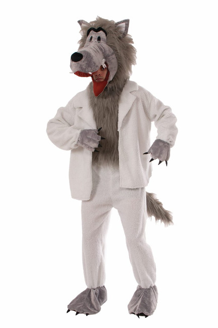 Wolf In Sheep's Clothing Mascot Costume