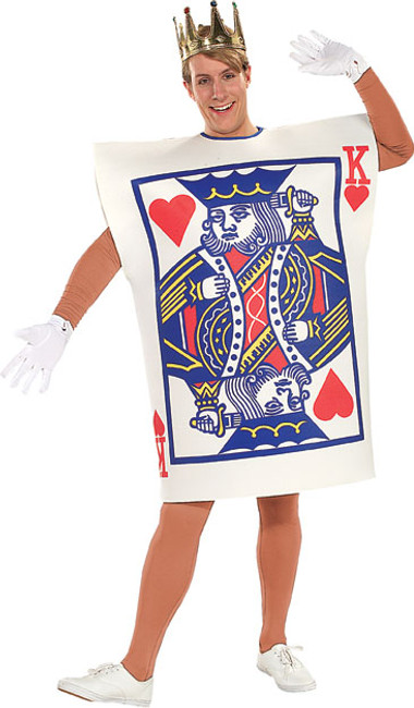 Playing Cards Kings of Hearts Costume