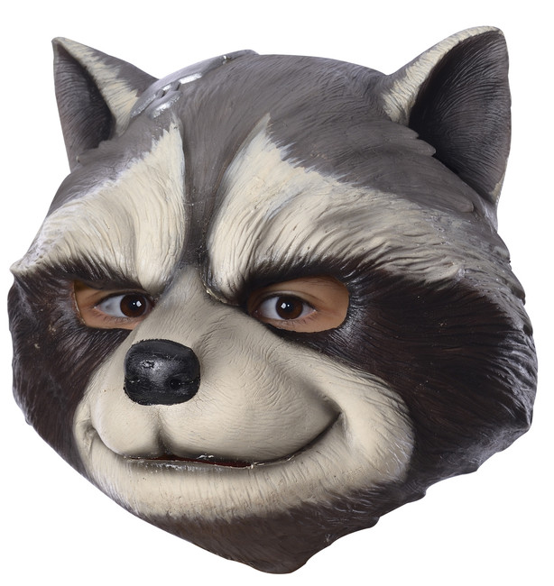 Rocket Raccoon Kids GOTG 3/4 Latex Mask
