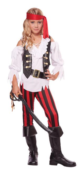 Posh Pirate Children's Costume