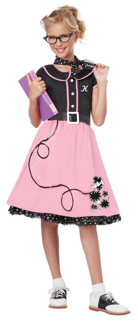 '50s Sweetheart Girls' Costume