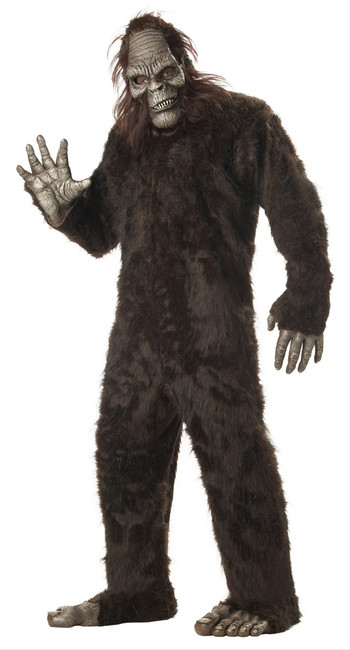 Plus Sized Big Foot Sasquatch Mascot Costume