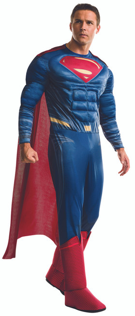 Adult Superman Dawn of Justice Muscle Costume