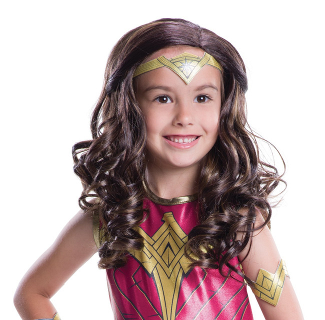Children's Wonder Woman Wig Batman v Superman